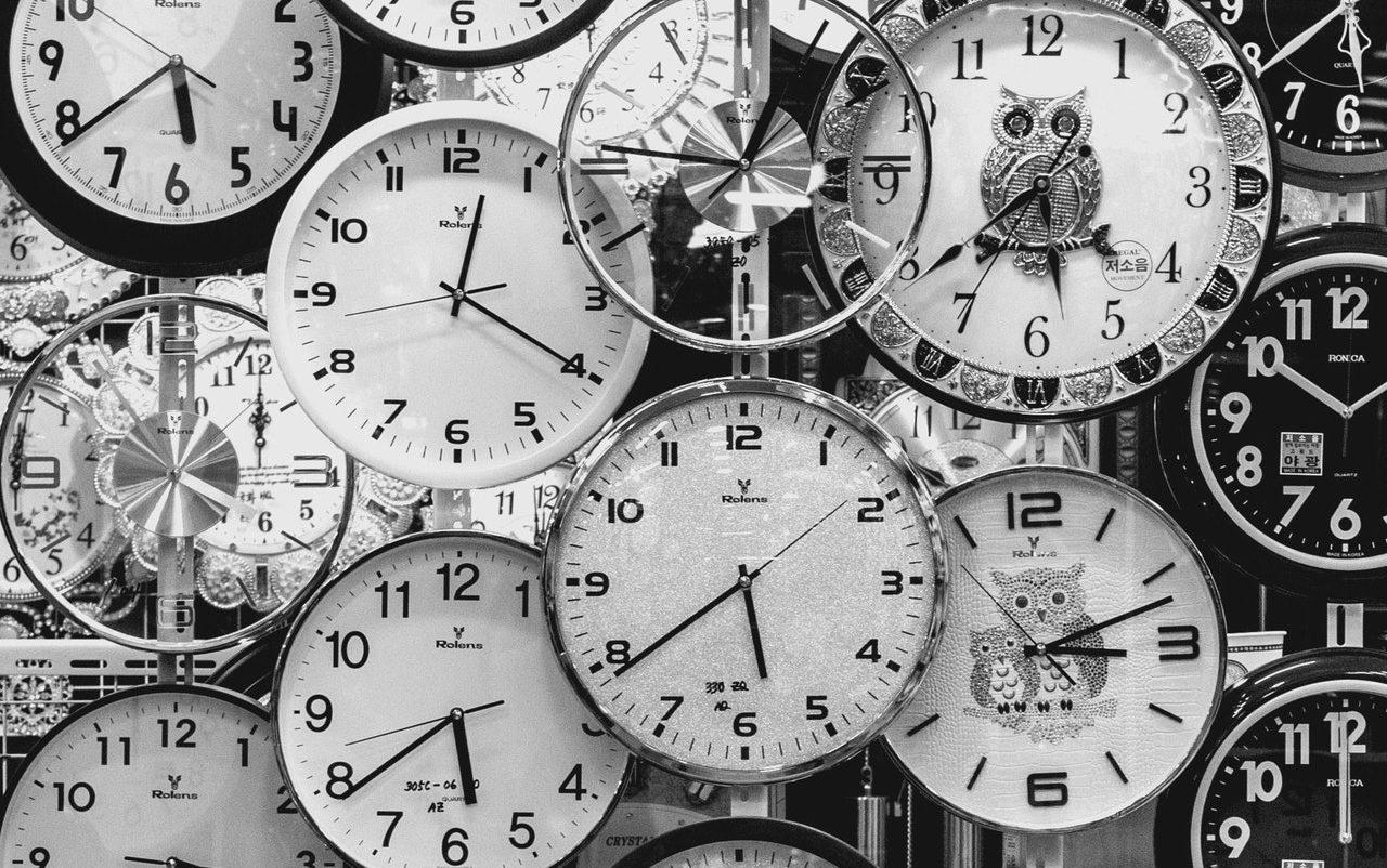 沢山の時計