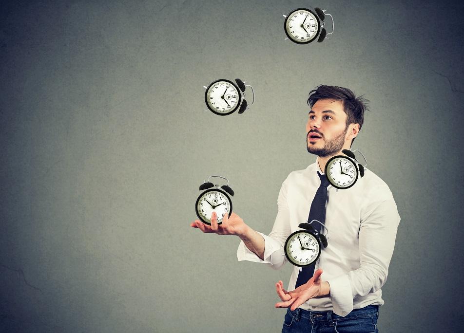 時間を管理する人